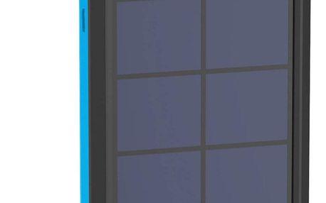 XLayer powerbank PLUS Solar 10000 mAh černá/modrá