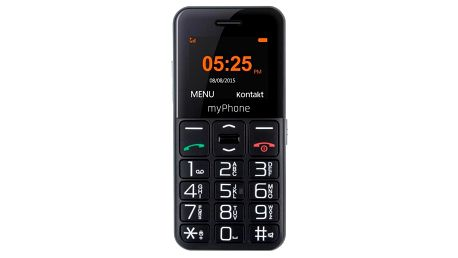myPhone HALO EASY černý (TELMY10EASYBK)