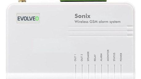 Evolveo Sonix, bezdrátový, GSM bílý (ALM301)