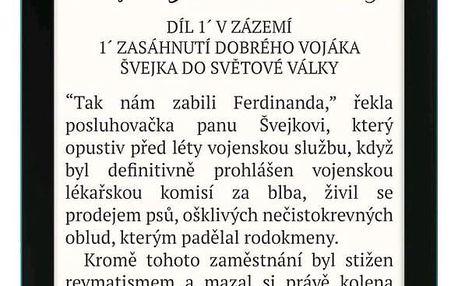 Čtečka e-knih Pocket Book 627 Touch Lux 4 - Emerald (PB627-C-WW)