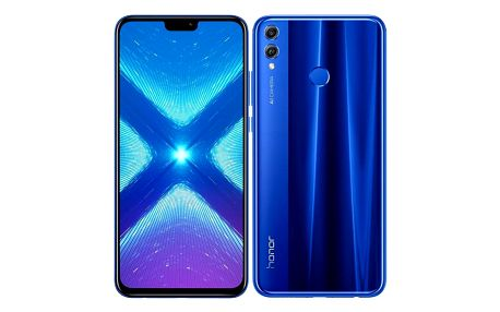 Honor 8X 64 GB Dual SIM modrý (51093VPL)