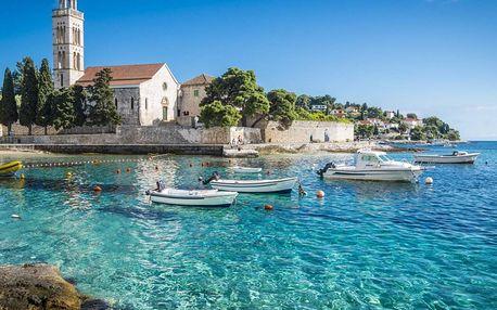 Chorvatsko na 8-10 dnů, polopenze