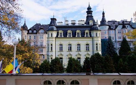 Lázeňský pobyt v překrásných Karlových Varech i přes Vánoce