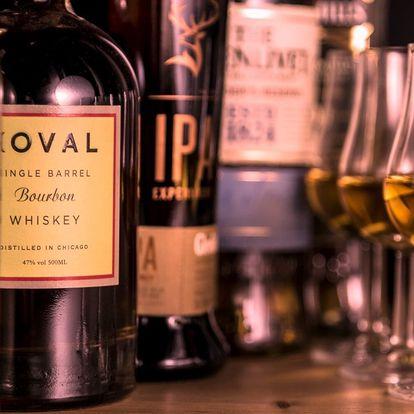 Prémiová degustace whisky: vzorky z celého světa