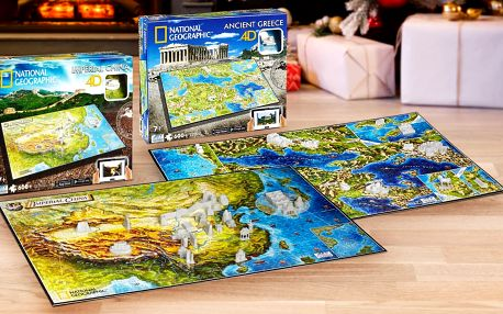 4D a 3D puzzle: Harry Potter i National Geographic