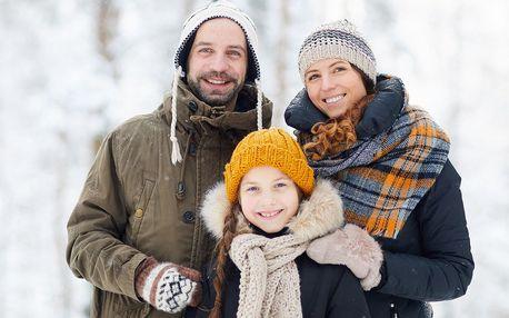 Rodinná dovolená s polopenzí a procedurami