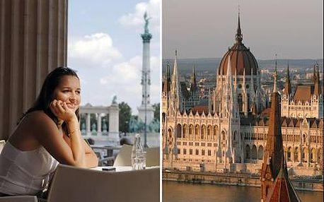 Pobyt pro dva v centru Budapešti v Soho Boutique Hotel