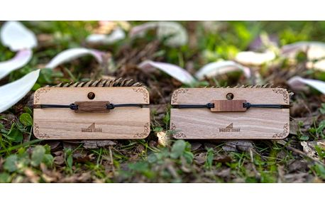 Dřevěné náramky: na výběr ze sedmi variant