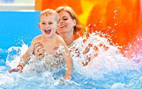 Celodenní vstupy pro dospělé do Aquaparku Senec