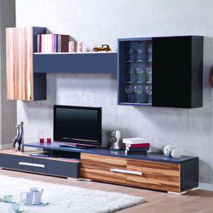 Tipy na moderní obývací stěny