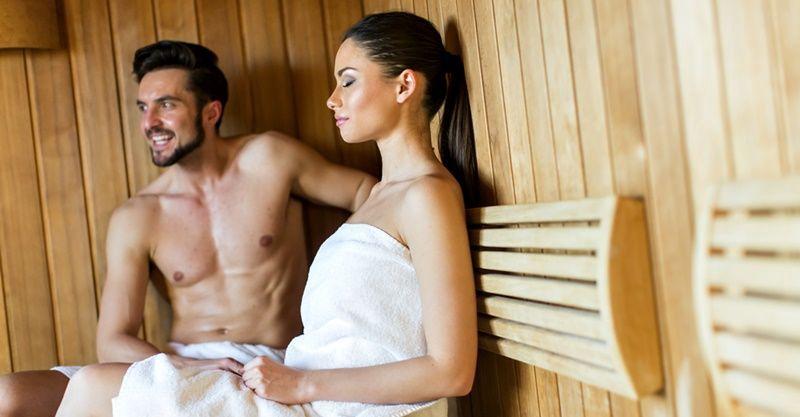 Zahřejte se v sauně