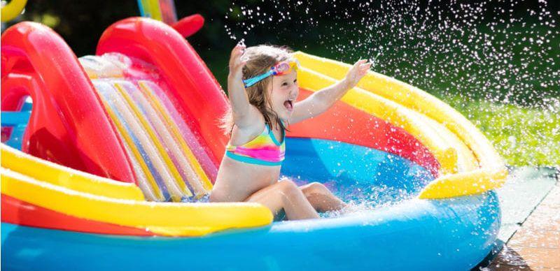 Bazény: Připravte dětem vodní hřiště