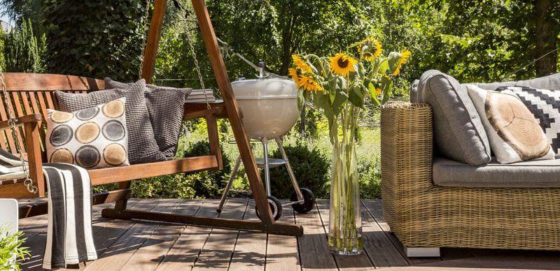 Zasaďte na zahradu nový nábytek