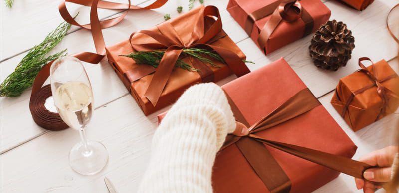 Vánoční Skrz Tip: Zabalte dárky do krásy