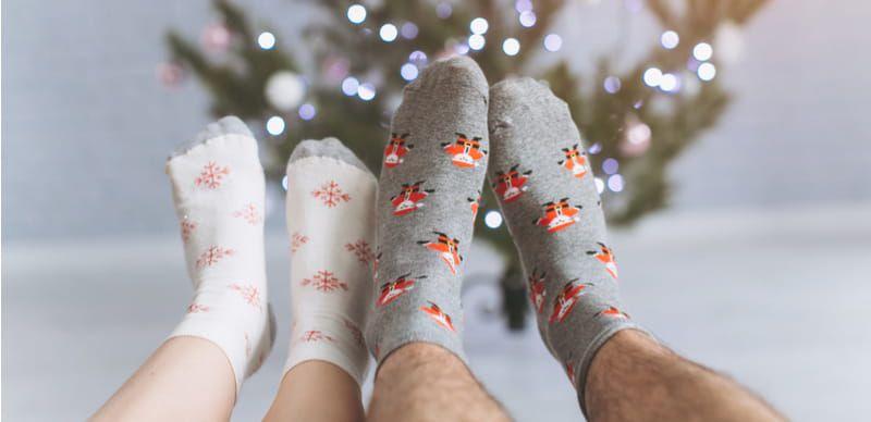 Každoroční vánoční favorit: Ponožky