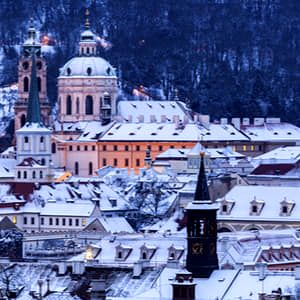 4 města, kterým zima sluší
