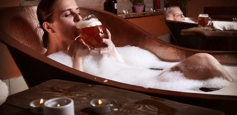Pivo léčí: Otestujte to v lázních