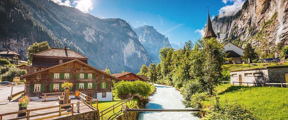 Léto v Alpách