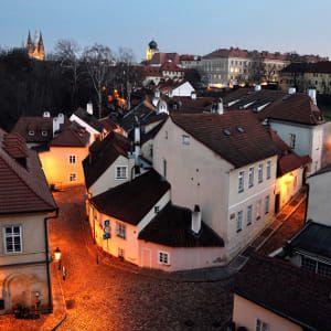 Putování po tajemných místech v Česku: Praha