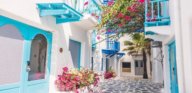 Putování po řeckých ostrovech